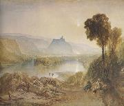 Joseph Mallord William Turner Prudhoe Castle,Northumberland (mk31) oil